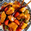 Pan-Fry Diced Chicken with Fresh Pepper