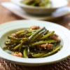 Pan Fried Garlic Scapes with Smoked